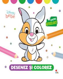 Disney bebe. Desenez si colorez - 2-4 ani