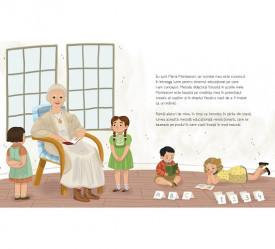 Maria Montessori - autobiografie pentru copii - interior 1
