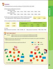 Matematica. Manual pentru clasa a III-a. 2 volume: semestrul 1 si 2 - interior 4