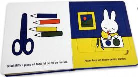 Miffy merge la bunici - caete cu puzzle - interior