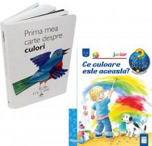"""Pachet """"Descoperim culorile"""" - """"Prima mea carte despre culori"""" si """"Ce culoare este aceasta?"""""""