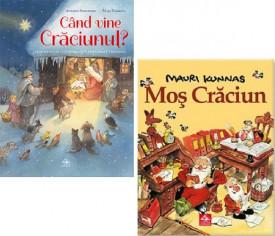 Pachet Mos Craciun 3-6 ani - Mos Craciun si Cand vine Craciunul?