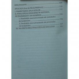 Vol. 3. Concepte fundamentale in pedagogie - cuprins