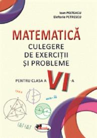 Matematica. Culegere de exercitii si probleme pentru clasa a VI-a