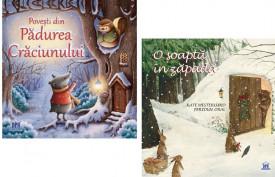 Pachet Magie de Craciun 3-6 ani - Povesti din Padurea Craciunului, O soapta in zapada