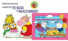 """Pachet """"Bune maniere"""": """"Cartea cu Te rog si Multumesc"""" + """"Bobita si Buburuza sar in ajutor"""""""