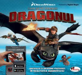 Carte interactiva unicat in Romania - Cum sa iti dresezi dragonul
