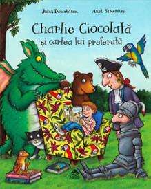 Charlie Ciocolata si cartea lui preferata