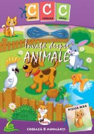 Copiii creeaza carti. Invata despre animale - kit de creat 8 mini-carti