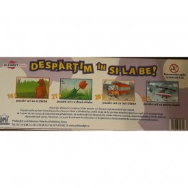 Despartim in silabe - puzzle educativ