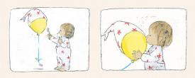 Fetita si balonul