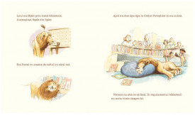 Leul din biblioteca - interior 2