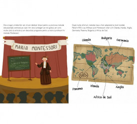 Maria Montessori - autobiografie pentru copii - interior 2
