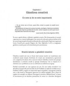 Predarea gandirii creative - interior 3
