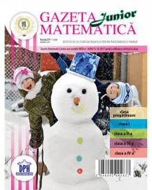Ultimele 2 exemplare! Gazeta Matematica Junior nr. 99 - ianuarie 2021