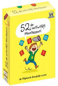 Ultimul exemplar! 52 de activitati Montessori - jetoane