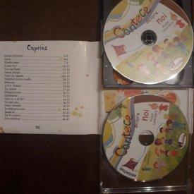 Cantece despre noi - carte cu 2 CD-uri audio cu cantece pentru copii - cuprins
