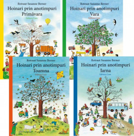 "Transport gratuit! Pachet 4 vol. ""Hoinari prin anotimpuri"": ""Toamna"", ""Iarna"", ""Primavara"", ""Vara"""