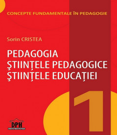 Vol. 1. Concepte fundamentale in pedagogie - coperta