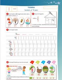 Elemente grafice. Caiet pentru clasa pregatitoare - interior 1