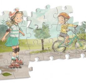Ema si Eric in parc - Puzzle de 40 de piese - interior 2