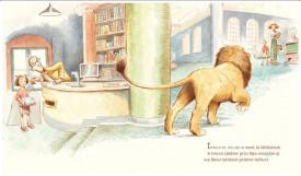 Leul din biblioteca - interior 1