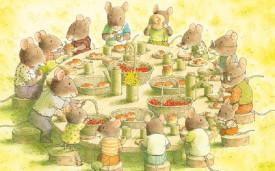 Micul dejun cu familia Soricel - interior