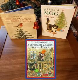Pachet Povesti de Craciun 3-7 ani - Surpriza de Craciun pentru Findus, Mesajul pasarilor catre inimile copiilor si Craciunul lui Mog