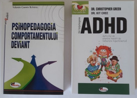 "Pachet ""Sa ne intelegem copiii"": ""Psihopedagogia comportamentului deviant"" si ""Sa intelegem ADHD"""