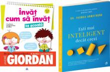 Pachet Scolar de top: Invat cum sa invat la scoala si Esti mai inteligent decat crezi