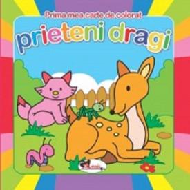 Prima mea carte de colorat - Prieteni dragi