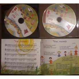 Cantece despre noi - carte cu 2 CD-uri audio cu cantece pentru copii - interior