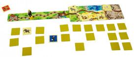 ZooMemo - joc de memorie si de cooperare +5 ani - plansa de joc