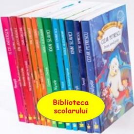 """Ultimul exemplar! Pachet PROMO """"Biblioteca scolarului"""" - 14 volume"""