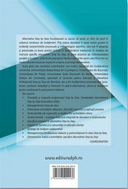 Alternativa educationala Step by Step: Abordari teoretice si pragmatice - coperta 4