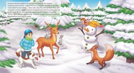 Andrew, Zoro and Santa Claus - interior 1