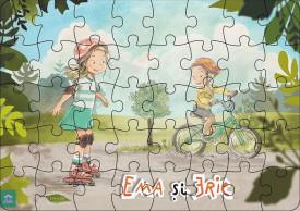 Ema si Eric in parc - Puzzle de 40 de piese - interior 1