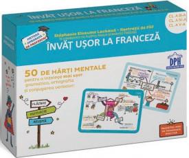 Invat usor la franceza - 50 de harti mentale. Vol. 2 - Clasa a III-a, a IV-a si a V-a