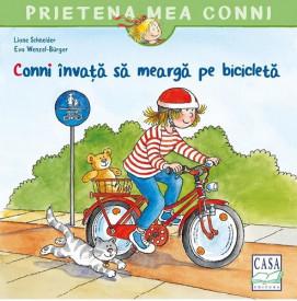 Prietena mea Conni. Conni invata sa mearga pe bicicleta
