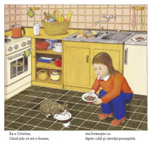 Sunt o pisica mititica - carte integral cartonata - interior