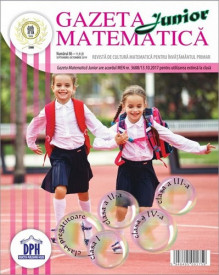 Ultimul exemplar! Gazeta matematica nr. 86 - septembrie-octombrie 2019
