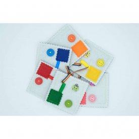 "Set senzorial Montessori ""Culori"""