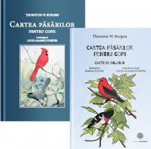 """Pachet """"Cartea pasarilor pentru copii"""" - carte de povesti si carte de colorat"""