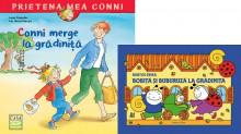 "Pachet PROMO ""Hai la gradi!"": ""Bobita si Buburuza la gradinita"", ""Conni merge la gradinita"""