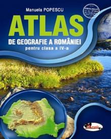 Atlas de geografie a Romaniei - clasa a IV-a
