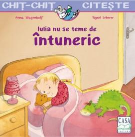 Chit-Chit citeste. Vol. 8 - Iulia nu se teme de intuneric + revista cu activitati Stele si planete