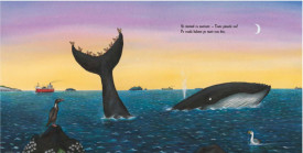 Melcul si balena - interior