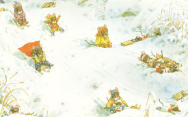 O zi de iarna cu familia Soricel - interior