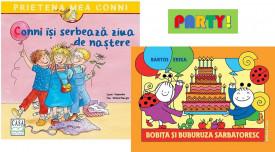 Pachet 2-4 ani PARTY! - Conni isi serbeaza ziua de nastere si Bobita si Buburuza sarbatoresc