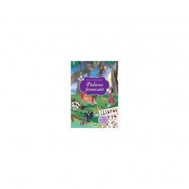 Padurea fermecata - carte cu autocolante